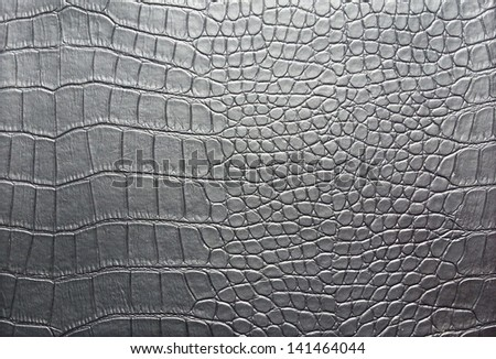 Crocodile skin pattern - stock photo