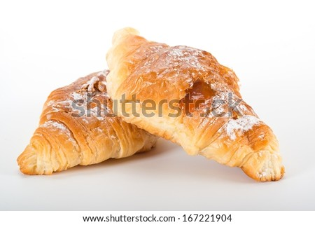 croissant stuffed with jam
