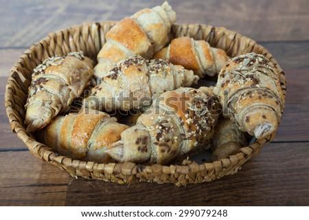 Croissants - stock photo