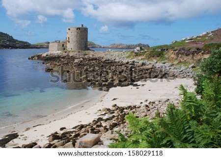 Cromwell's Castle, Isles of Scilly, UK