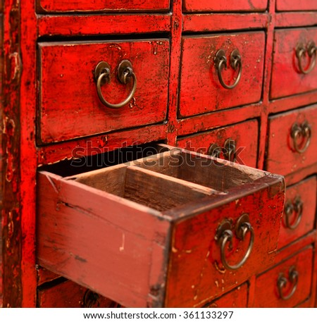 Herbal Medicine Drawer Stock Images, Royalty-Free Images & Vectors ...