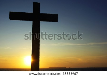 Cross of Christ to the Sunset.