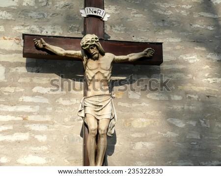 cross of Jesus - stock photo