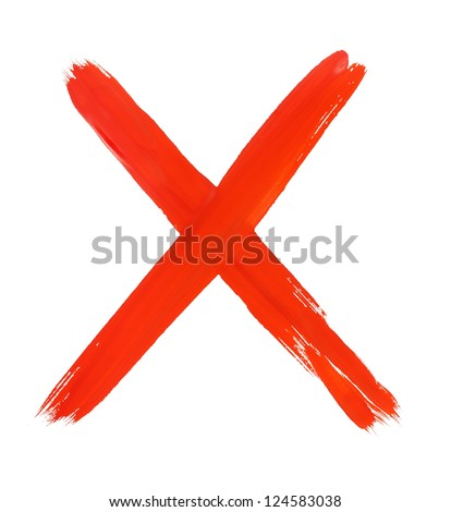 cross sign - stock photo