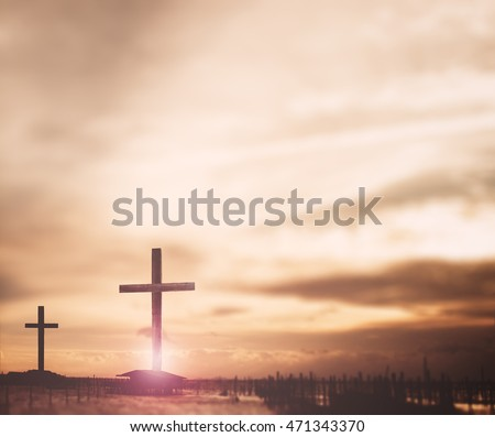 crosses against dramatic red sky The Cross. Autumn, Lent, Church, Amen, God, Palm, Help, Life, Sun, Pray, Art, Sky, Day, Hill, Supper, Color, Wood, Shine, Follow, Peace, Gospel, Mercy, Death, Trust