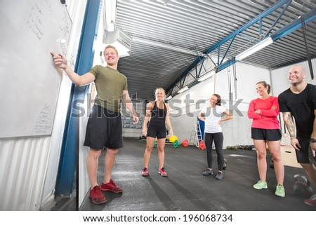 Crossfit training course - stock photo
