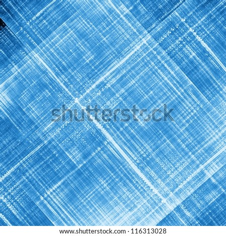 Crossing blue lines texture.  Abstract illustration. - stock photo
