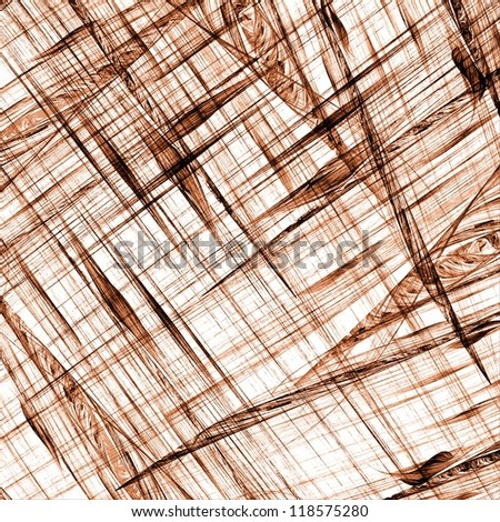 Crossing lines on white background. Scratched surface texture. - stock photo