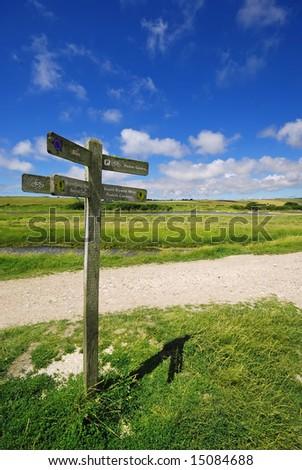 Crossroads - stock photo