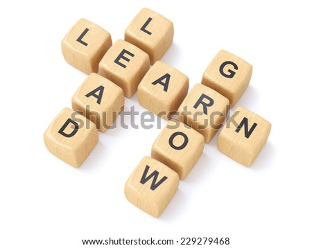 crossword puzzle - stock photo