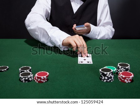online casino dealer lucky lady