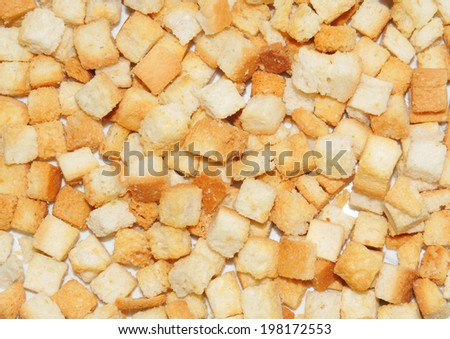 Croutons background