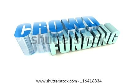 Crowd Funding - stock photo