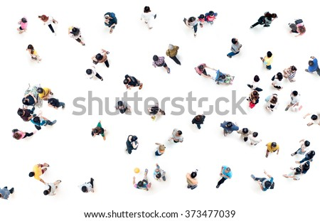 Aerial View People Png