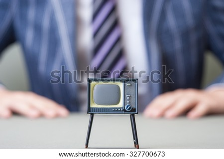 CRT-based television