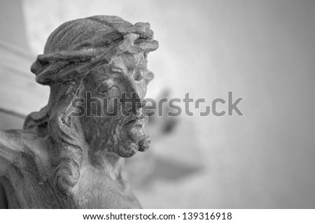 Crucifixion - stock photo