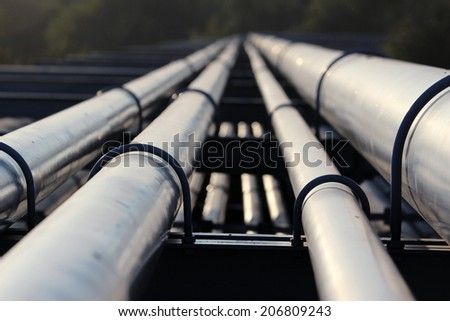 crude oil pipeline transportation to refinery