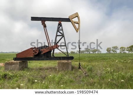 crude oil pump well