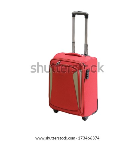cruise bag isolated under the white background