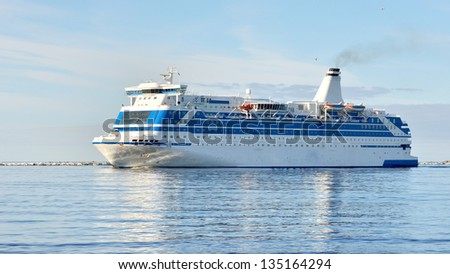 cruise ferry ship