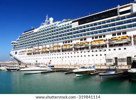 Cruise Ship - stock photo