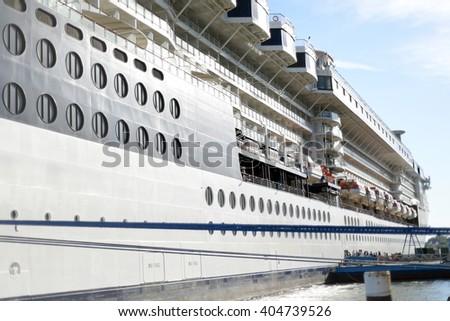 Cruise Ship Docked Cobh Ireland Stock Photo Shutterstock - Cruise ship ireland