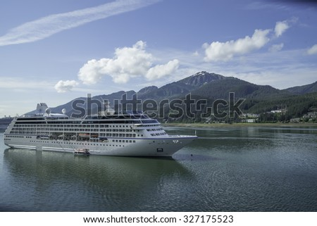 Cruise Ships at Juneau, Alaska