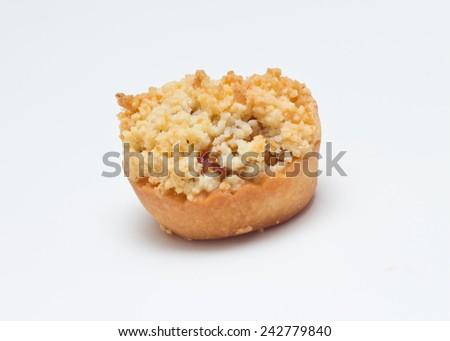 Crumble tart - stock photo