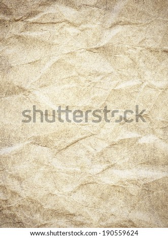 Crumbled paper covered with grey pencil background  - stock photo