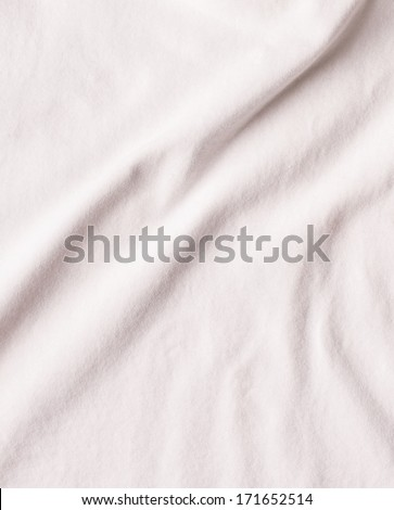 Crumpled fabric texture - stock photo