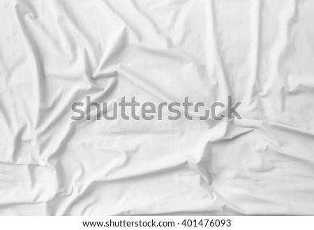 Crumpled fabric texture