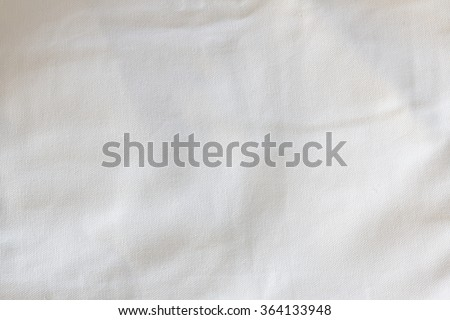 Crumpled fabric texture, cloth background  - stock photo