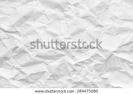 crumpled paper, abstract background or texture - stock photo