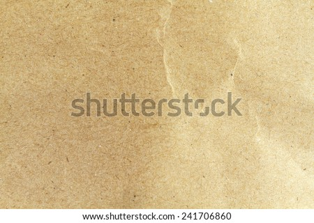 Crumpled paper background vignette and texture