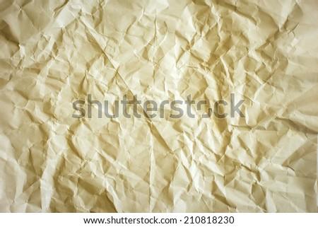 Crumpled Paper./ Crumpled Paper. - stock photo