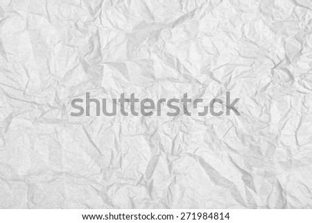 Crumpled paper texture background - stock photo