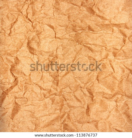 crumpled paper texture for background