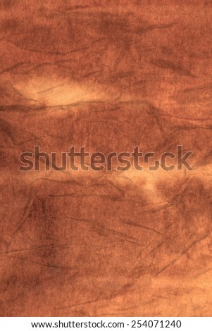 Crumpled recycled paper with texture background. - stock photo