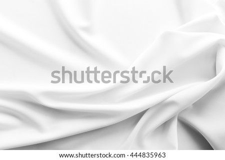 crumpled white fabric texture background