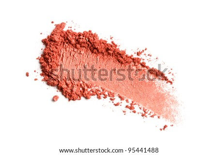 Crushed eyeshadow - stock photo