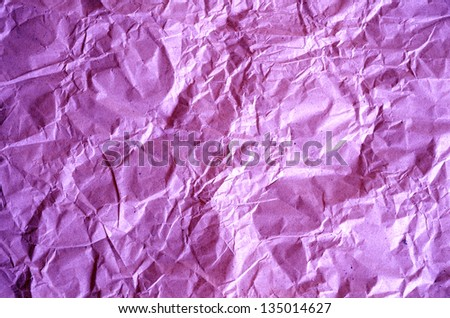 Crushed paper background