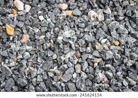 crushed stone abstract textured background - stock photo