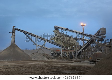 crusher for manufactured sand,artificial sand,aggregate production