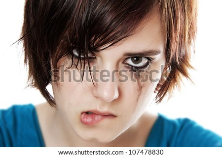 crying angry teenager stock photo edit now 107478830 shutterstock