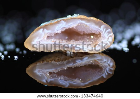 crystal - stock photo