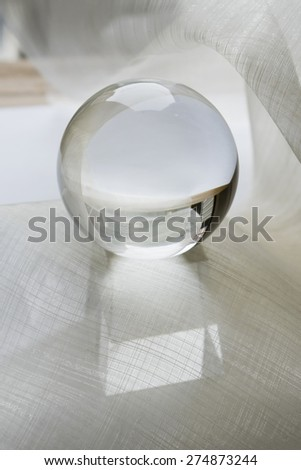 Crystal ball - stock photo