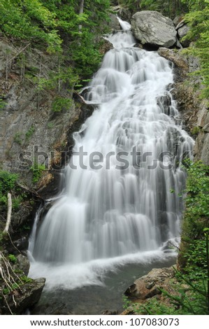 Crystal Cascade in Pinkham Notch, New Hampshire