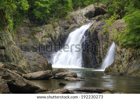 Crystal Cascades near Cairns, Queensland, Australia