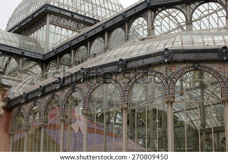 crystal palace - stock photo