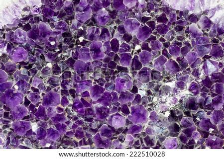 crystal stone - stock photo